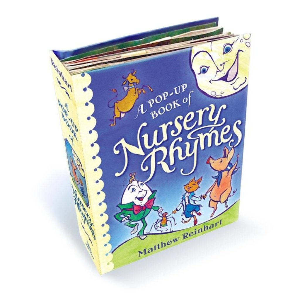 SIMON AND SCHUSTER A POP-UP BOOK OF NURSERY RHYMES