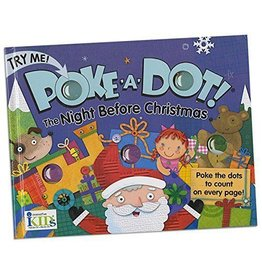 INNOVATIVE KIDS BOOK POKE A DOT NIGHT BEFORE CHRISTMAS