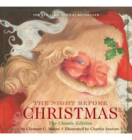 SIMON AND SCHUSTER NIGHT BEFORE CHRISTMAS HB SANTORE