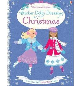 EDC PUBLISHING STICKER DOLLY DRESSING CHRISTMAS