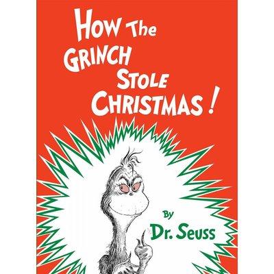 RANDOM HOUSE HOW THE GRINCH STOLE CHRISTMAS HB SEUSS
