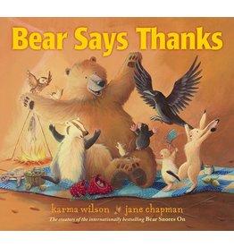 SIMON AND SCHUSTER BEAR SAYS THANKS HB WILSON