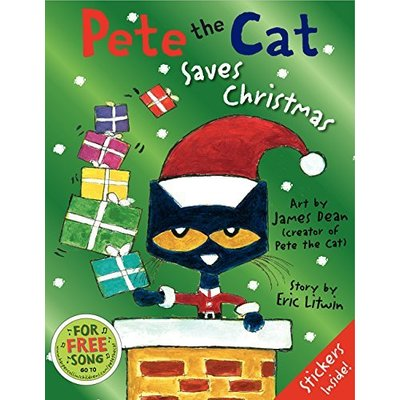 HARPERCOLLINS PUBLISHING PETE THE CAT SAVES CHRISTMAS HB DEAN