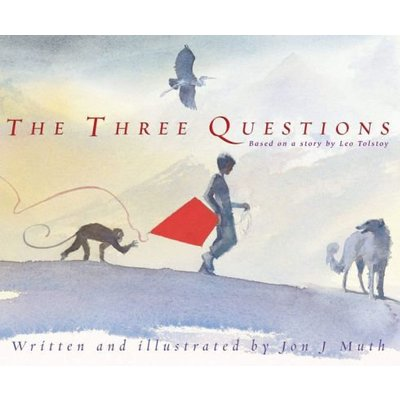 SCHOLASTIC THREE QUESTIONS HB MUTH