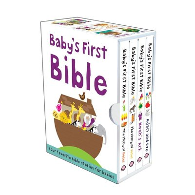 MACMILLIAN BABY'S FIRST BIBLE SLIPCASE BB PRIDDY