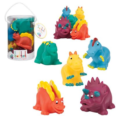 BATTAT / TGTG IMPORT DINOSAUR BATH BUDDIES