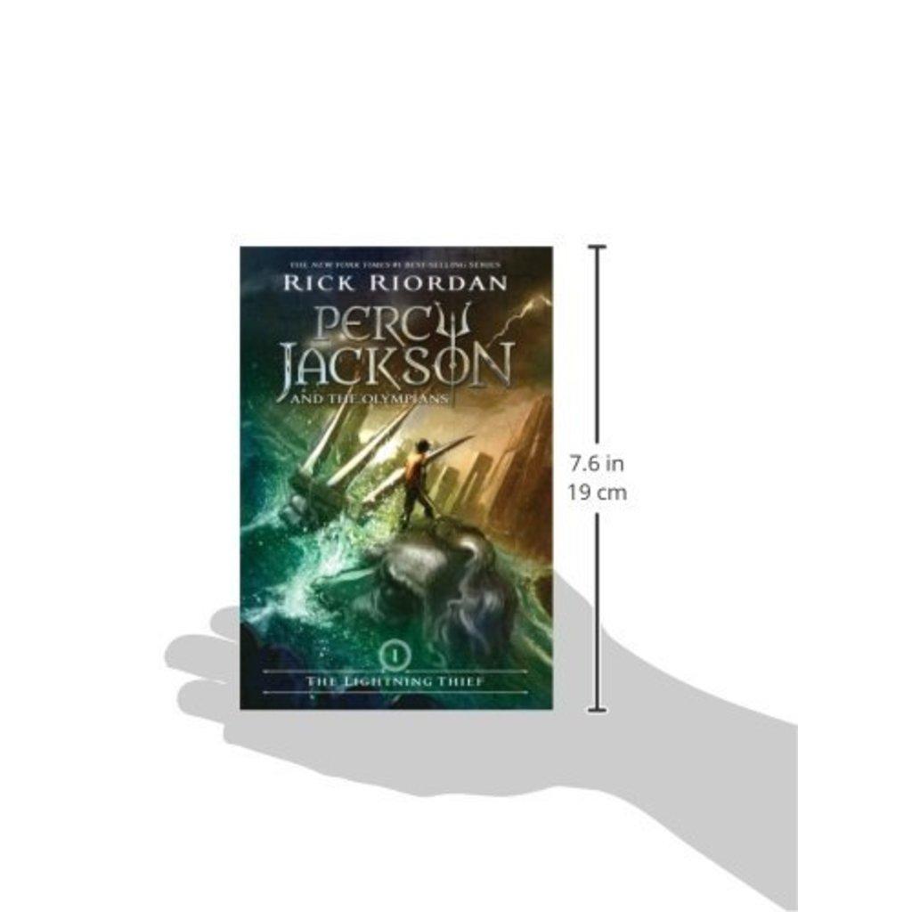 HACHETTE BOOK GROUP PERCY JACKSON : THE LIGHTNING THIEF PB RIORDAN