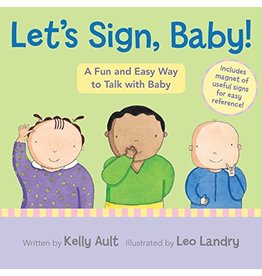 HOUGHTON MIFFLIN LET'S SIGN BABY BB AULT