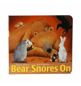 SIMON AND SCHUSTER BEAR SNORES ON BB WILSON