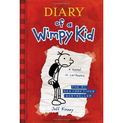 ABRAMS BOOKS DIARY OF A WIMPY KID 1 HB KINNEY