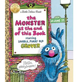 RANDOM HOUSE MONSTER AT THE END OF THIS BOOK LGB SESAME STREET