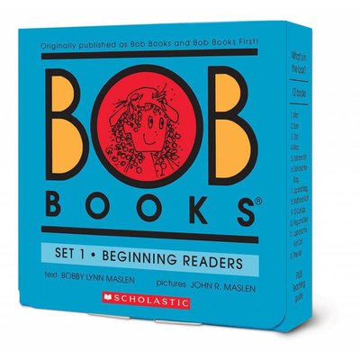 SCHOLASTIC BOB BOOKS SET 1