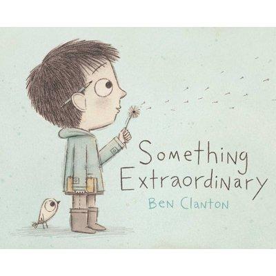 SIMON AND SCHUSTER SOMETHING EXTRAORDINARY HB CLANTON