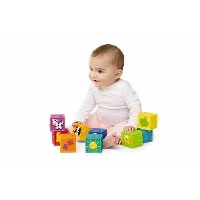 EARLY YEARS SQUEAK 'N STACK BLOCKS