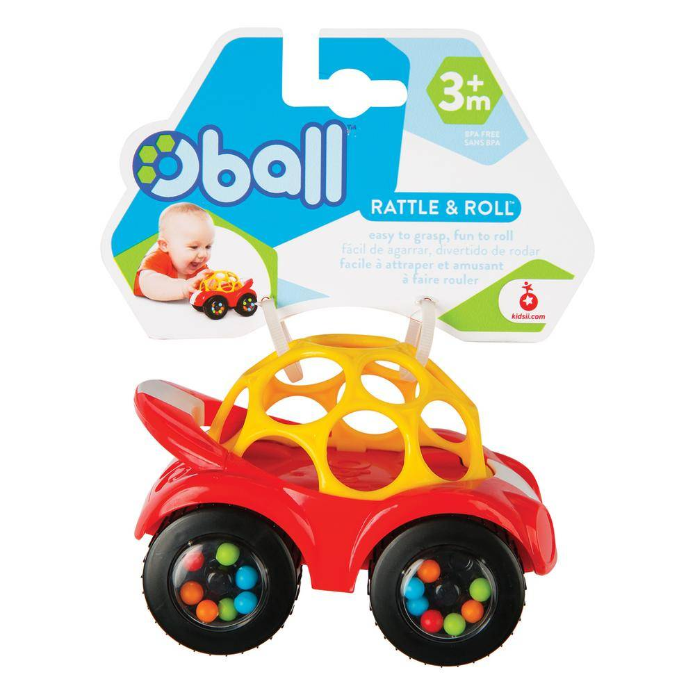 Oball Rattle Amp Roll The Toy Store