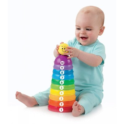 FISHER PRICE STACK & ROLL CUPS