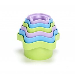 GREEN TOYS RECYCLED STACKING CUPS
