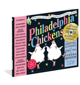 WORKMAN PUBLISHING PHILADELPHIA CHICKENS W/ CD HB BOYNTON