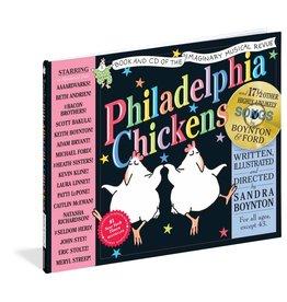 WORKMAN PUBLISHING PHILADELPHIA CHICKENS W/ CD HB BOYNTON