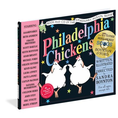 WORKMAN PUBLISHING PHILADELPHIA CHICKENS W/ CD