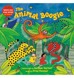 BAREFOOT BOOKS ANIMAL BOOGIE W/CD PB PENNER & HARTER