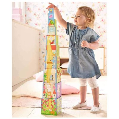 HABA STACKING CUBES RAPUNZEL