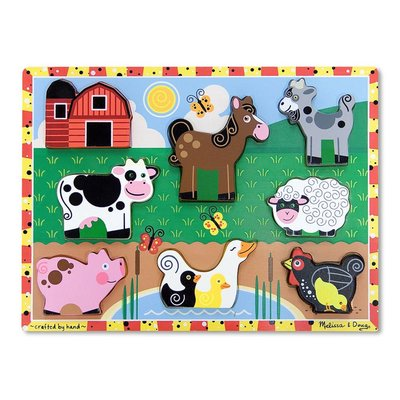 MELISSA AND DOUG CHUNKY PUZZLE
