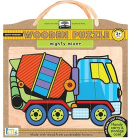 INNOVATIVE KIDS BOOK MIGHTY MIXER 14 PC PUZZLE