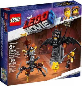 LEGO BATTLE-READY BATMAN & METALBEARD