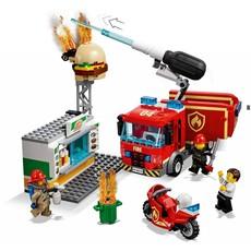 LEGO BURGER BAR FIRE RESCUE
