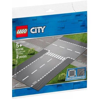 LEGO STRAIGHT & T-JUNCTION BASEPLATE
