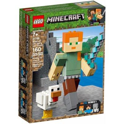 LEGO ALEX BIGFIG WITH CHICKEN*