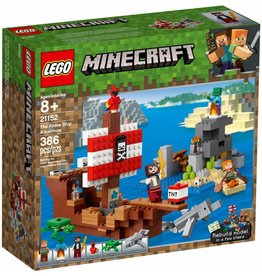 LEGO THE PIRATE SHIP ADVENTURE MINECRAFT