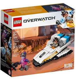LEGO TRACER VS WIDOWMAKER OVERWATCH*