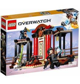 LEGO HANZO VS GENJI OVERWATCH