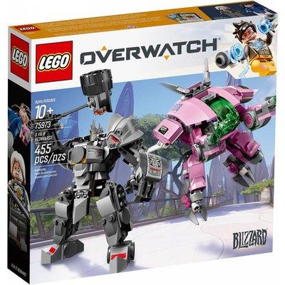 LEGO D.VA & REINHARDT OVERWATCH