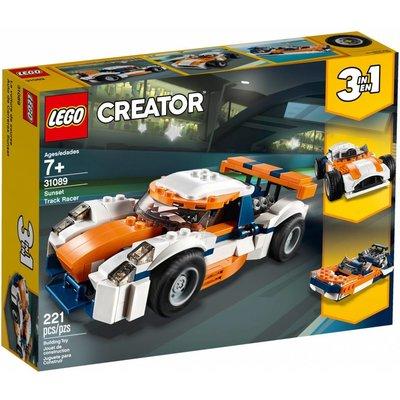 LEGO SUNSET TRACK RACER CREATOR