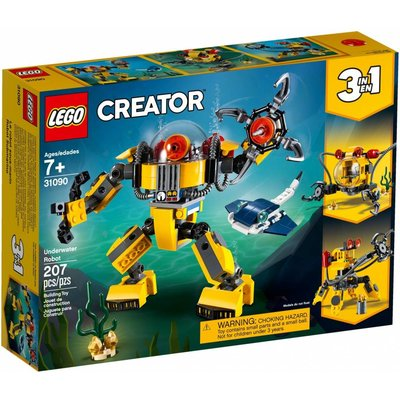 LEGO UNDERWATER ROBOT CREATOR