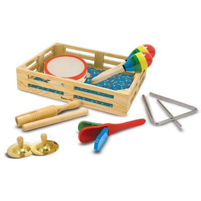MELISSA AND DOUG BAND IN A BOX - CLAP! CLANG! TAP!