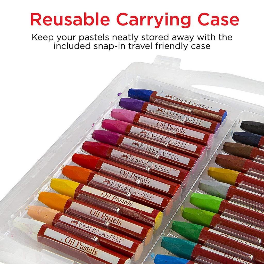 FABER CASTELL OIL PASTELS 24 COUNT