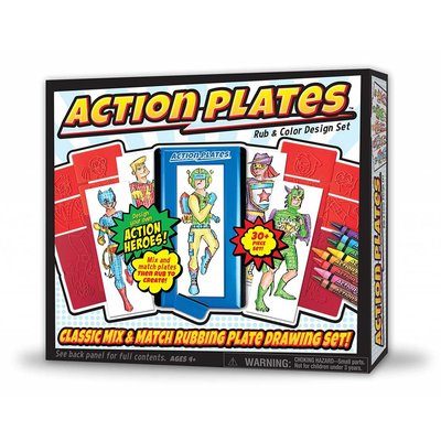 KAHOOTZ ACTION PLATES