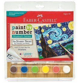 FABER CASTELL PAINT BY NUMBER MUSEUM SERIES