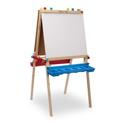 MELISSA AND DOUG DELUXE WOODEN STANDING ART EASEL M & D