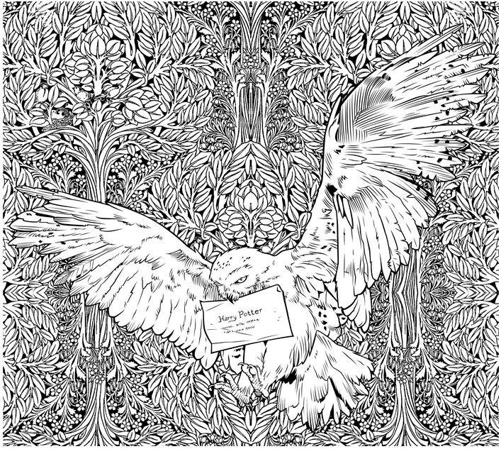 SCHOLASTIC HARRY POTTER COLORING BOOK