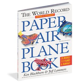 WORKMAN PUBLISHING WORLD RECORD PAPER AIRPLANE BOOK*