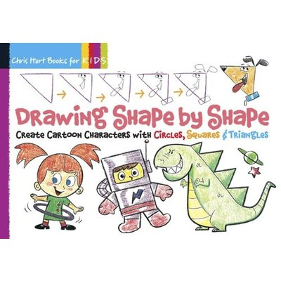 STERLING PUBLISHING DRAWING SHAPE BY SHAPE