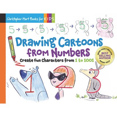 STERLING PUBLISHING DRAWING CARTOONS FROM NUMBERS