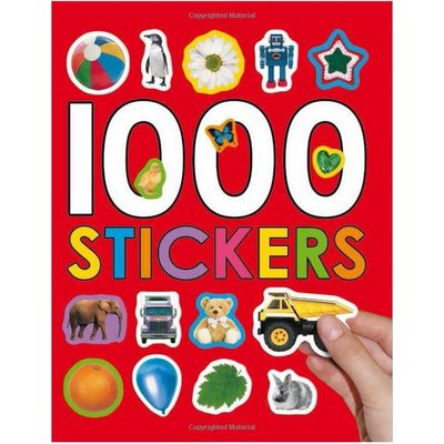MACMILLIAN 1000 STICKERS BOOK