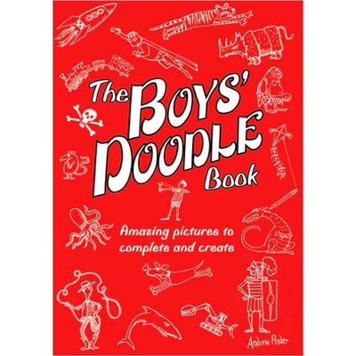 RUNNING PRESS KIDS BOYS' DOODLE BOOK