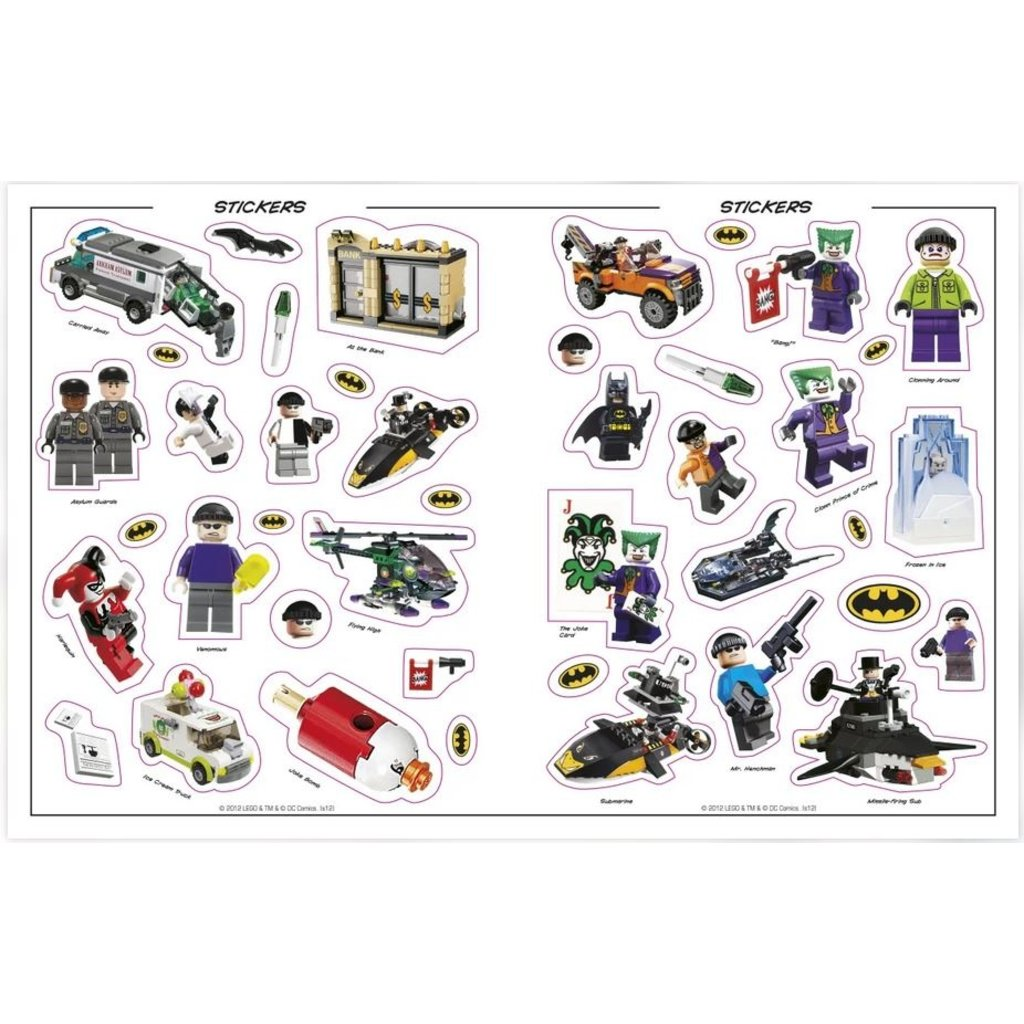 DK PUBLISHING LEGO BATMAN ULTIMATE STICKER COLLECTION